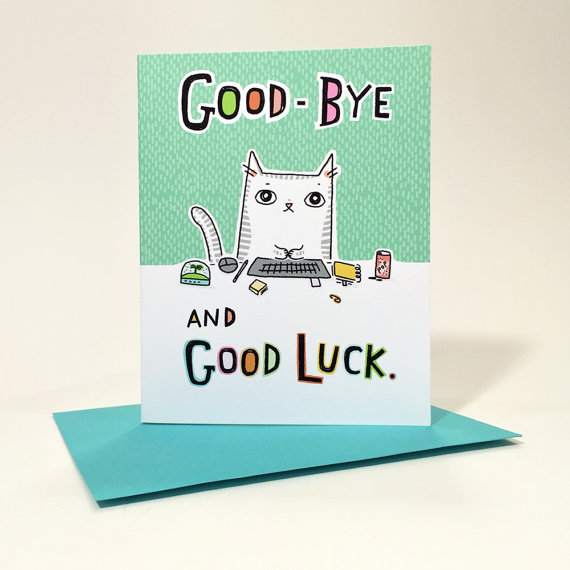 Colorful Cards - Good-bye #2, outside